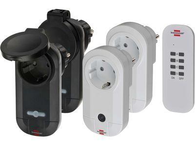 Розетки с управлением от пульта 4 шт. Brennenstuhl Comfort-Line RC CE1 2201 (1507060)