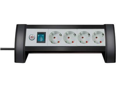 Удлинитель настольный Brennenstuhl Premium-Office-Line 4 розетки; 1,8 метра, кабель H05VV-F 3G1,5 (1156250414)
